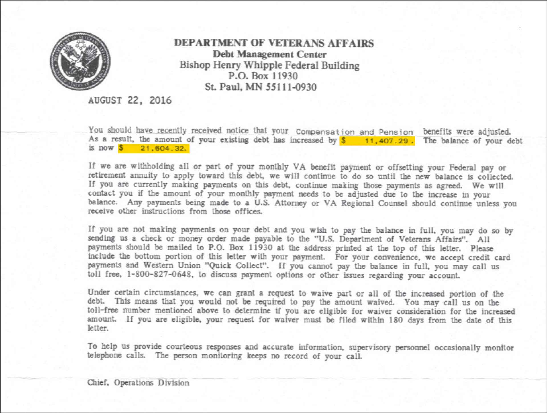 The VA overpaid tens of thousands of veterans, and now it says they