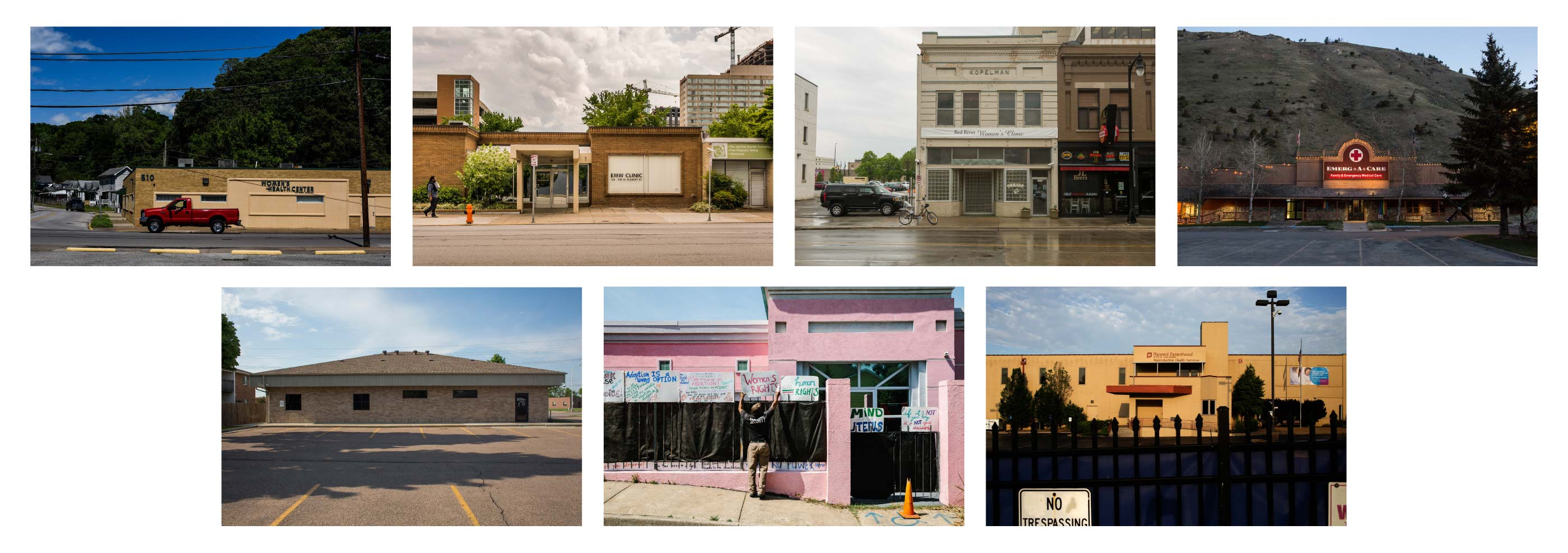Seven states have only one remaining abortion clinic  We