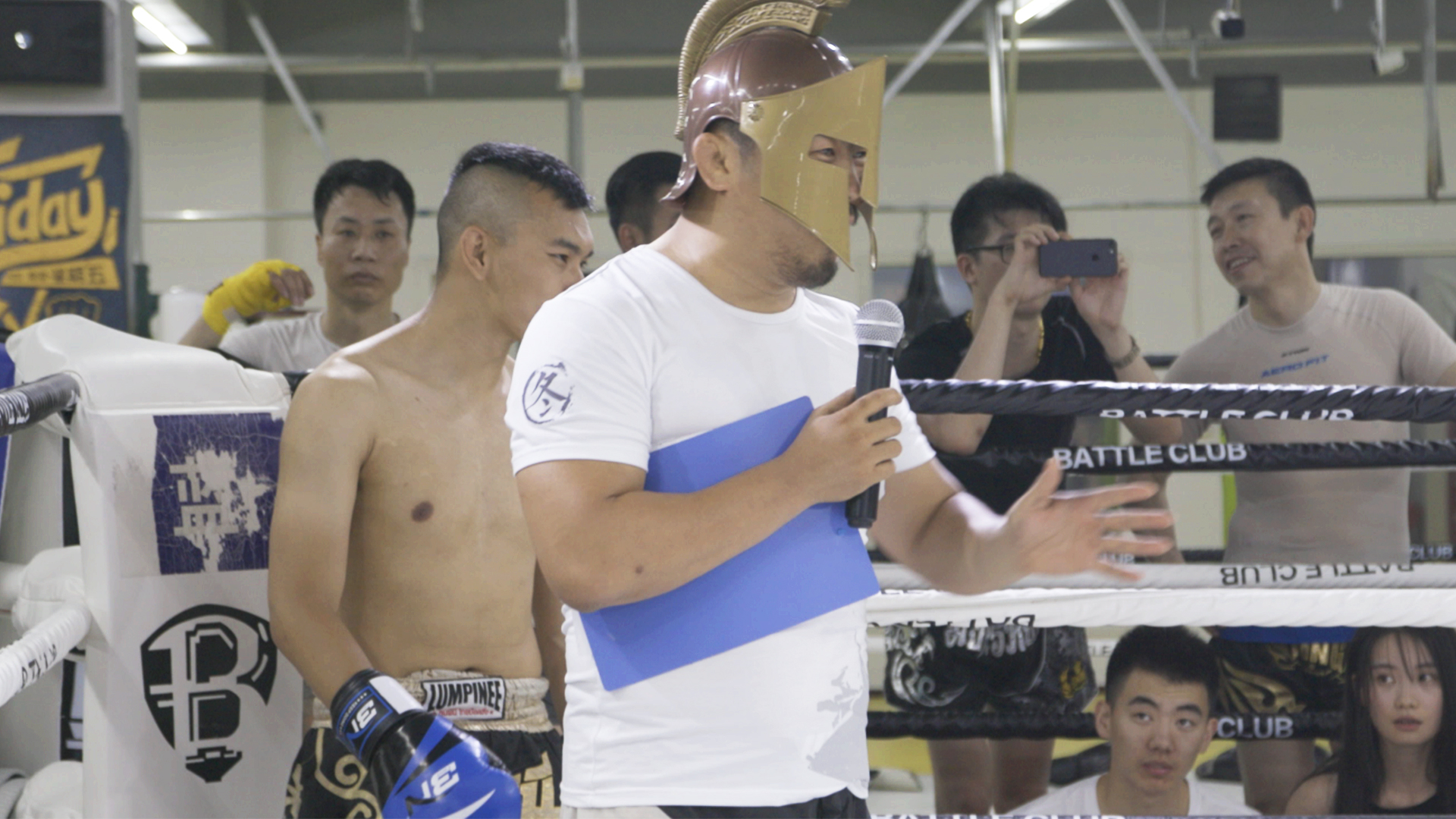 """The MMA fighter on a mission to expose """"fake martial artists"""" in"""